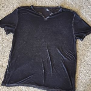 Mens express Henley shirt